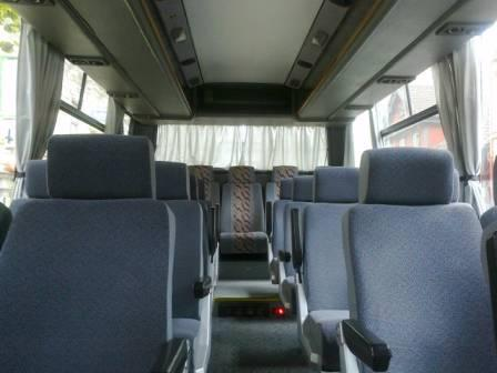 Minicoaches with 25 seats