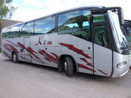 Coach with 35, 40, 45, 49, 50, 55 seats