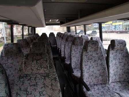 Coach with 25, 30, 31, 33 seats