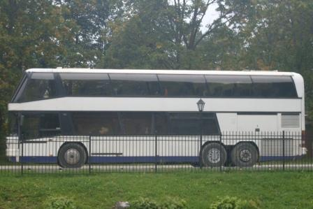 Coach with  60, 65, 68, 70, 75 seats Double decker