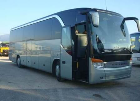 Coach with 45, 49, 50, 55 seats